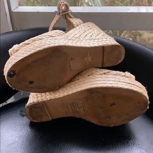 Steve Madden Shoes - Steve Madden espadrille handmade wedges. Size 5.
